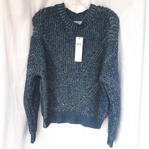 Noisy May Dream Blue Knit Seater size L